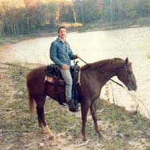 Tim on Horseback